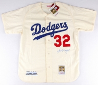 Sandy Koufax Signed Dodgers Jersey (PSA LOA) at PristineAuction.com
