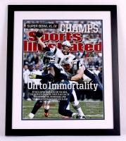 Tom Brady Signed Patriots 22x26 Custom Framed Photo Display (Steiner COA & TriStar) at PristineAuction.com