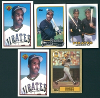 Lot of (5) Barry Bonds Baseball Cards with 1987 Topps #320 RC, 1988 Topps #231 TL, 1989 Topps #620, & (2)  1989 Bowman #426 at PristineAuction.com