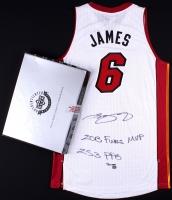"LeBron James Signed Miami Heat Authentic On-Court Jersey Inscribed ""2013 Finals MVP"" & ""25.3 PPG"" (UDA COA & Fanatics Hologram)"