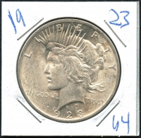1923 Peace Silver Dollar at PristineAuction.com