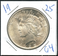 1925 Peace Silver Dollar at PristineAuction.com