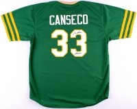 """Jose Canseco Signed Athletics Jersey Inscribed """"Juiced"""" (JSA COA) at PristineAuction.com"""