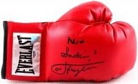 "Muhammad Ali & Joe Frazier Dual Signed Everlast Boxing Glove Inscribed ""Smokin"" (PSA LOA) at PristineAuction.com"