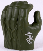 """Stan Lee Signed """"The Incredible Hulk"""" Fist (PSA LOA) at PristineAuction.com"""
