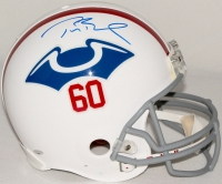 Tom Brady Signed Patriots Throwback Full-Size Authentic Pro-Line Helmet (TriStar) at PristineAuction.com