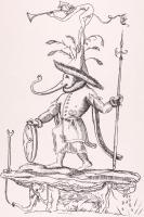 "Salvador Dali Signed ""Les Songes Drolatiques (Comical Dreams) de Pantagruel"" Seamstress, Elephants, Trumpeter 21x30 LE 1973 Lithograph on Archival Japon Paper #XLIV/L at PristineAuction.com"