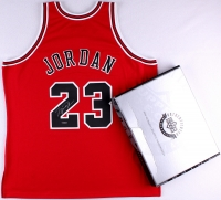 Michael Jordan Signed LE Authentic Mitchell & Ness Bulls Jersey (UDA COA)