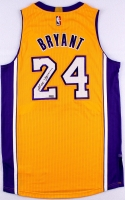 Kobe Bryant Signed Lakers Authentic Adidas On-Court Jersey (Panini COA) at PristineAuction.com