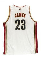 LeBron James Signed Cavaliers Authentic Reebok Rookie Jersey (UDA COA)