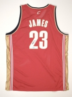 LeBron James Signed Cavaliers Authentic Reebok Rookie Jersey (UDA COA) at PristineAuction.com