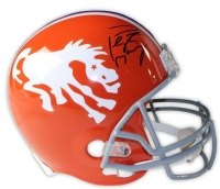Peyton Manning Signed Broncos Throwback Full-Size Helmet (Steiner COA) at PristineAuction.com