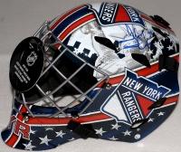 Henrik Lundqvist Signed Rangers Full-Size Goalie Mask (Steiner COA) at PristineAuction.com