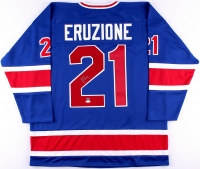 """Mike Eruzione Signed 1980 Team USA """"Miracle on Ice"""" Jersey (Schwartz COA & JSA Hologram) at PristineAuction.com"""