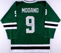 Mike Modano Signed Stars Jersey (JSA COA) at PristineAuction.com
