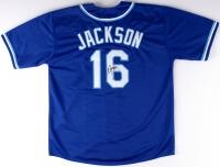 Bo Jackson Signed Royals Throwback Jersey (JSA COA) at PristineAuction.com