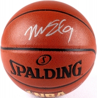 Nick Van Exel Signed Basketball (JSA) at PristineAuction.com