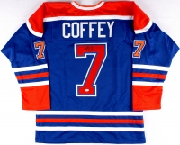Paul Coffey Signed Oilers Jersey (JSA COA) at PristineAuction.com