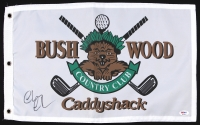 """Chevy Chase Signed Bushwood Country Club """"Caddyshack"""" Golf Flag (PSA COA) at PristineAuction.com"""