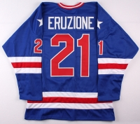 """Mike Eruzione 1980 Team USA """"Miracle on Ice"""" On-Ice Style Jersey (Size XL) at PristineAuction.com"""