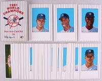 1961 Yankees World Champions LE Complete Set of (42) Fine Art Baseball Cards by Ron Lewis at PristineAuction.com