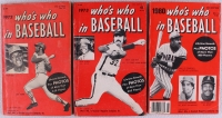 """Lot of (3) Vintage """"Who's Who in Baseball"""" Books from 1972, 1973, & 1980 Featuring Joe Torre, Vida Blue, Steve Carlton, Dick Allen, Willie Stargell, Keith Hernandez, Don Baylor at PristineAuction.com"""
