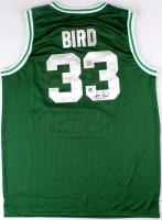 Larry Bird Signed Celtics Jersey (Bird Hologram & Superstar Greetings COA) at PristineAuction.com