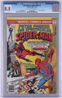 """""""Peter Parker, The Spectacular Spider-Man"""" #1 Marvel Comics, 1976 (CGC 8.5) at PristineAuction.com"""