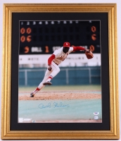 Bob Gibson Signed Cardinals 22x26 Custom Framed Photo Display (PSA COA) at PristineAuction.com