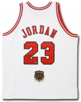 "Michael Jordan Signed LE ""Hall of Fame"" Bulls Authentic Mitchell & Ness On-Court Jersey Inscribed ""HOF 2009"" (UDA COA) at PristineAuction.com"