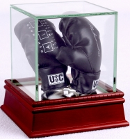 """Muhammad Ali Upper Deck """"The Masters Collection"""" LE Gloves with High Quality Display Case at PristineAuction.com"""