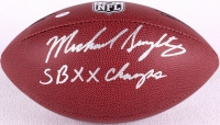 "Mike Singletary Signed Football Inscribed ""SB XX Champs"" (Schwartz COA) at PristineAuction.com"