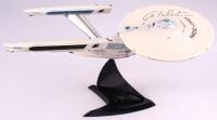 "William Shatner Signed Star Trek ""Starship Legends"" 16"" NCC-1701 Enterprise Electronic Starship (JSA COA) at PristineAuction.com"