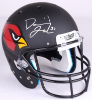 David Johnson Signed Cardinals Full-Size Custom Matte Black Helmet (JSA COA) at PristineAuction.com