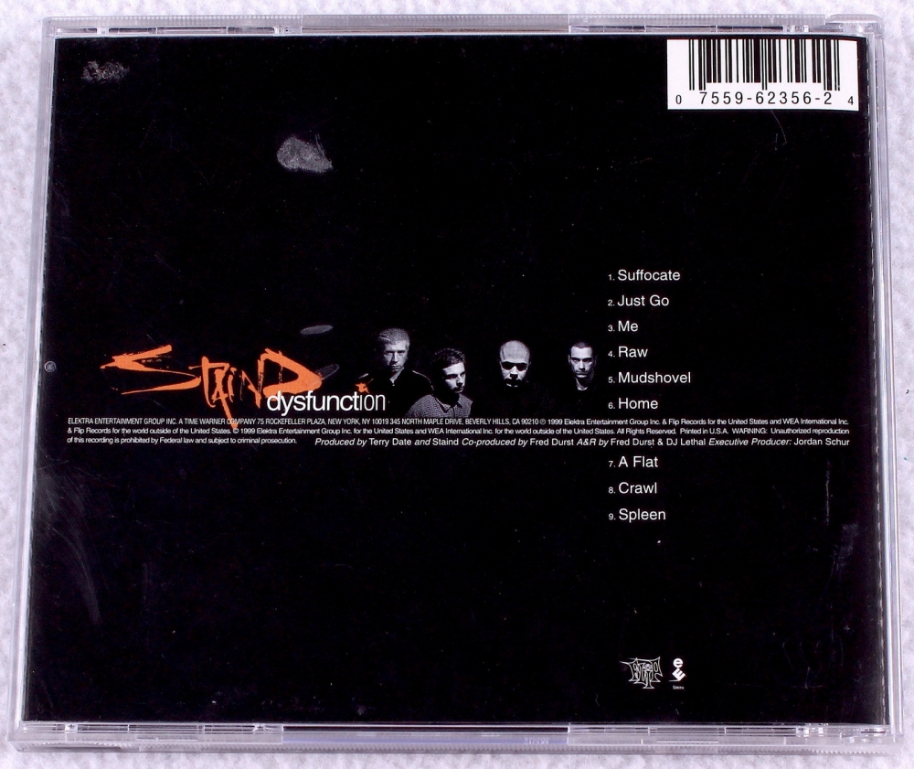 the history of how the album dysfunction by the band staind got its popularity The singles 1996-2006 thanks to their power ballad it's been awhile, it'd be easy for some listeners to forget that staind got its debut lp, hallucinating, an.