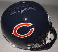 """Mike Singletary Signed Bears Full-Size Helmet Inscribed """"Monsters of the Midway"""" (Schwartz COA) at PristineAuction.com"""