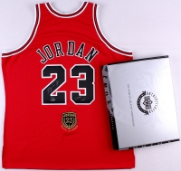 "Michael Jordan Signed Bulls Hall of Fame LE Authentic Jersey Inscribed ""2009 HOF"" (UDA COA) at PristineAuction.com"