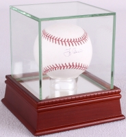 Yogi Berra Signed OML Baseball with High Quality Display Case (Steiner COA & MLB) at PristineAuction.com