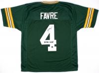 """Brett Favre Signed Packers """"2016 HOF"""" Jersey (JSA COA & Favre COA) at PristineAuction.com"""
