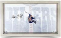 Wayne Gretzky Signed Oilers 18x30 Custom Framed Acrylic Display (UDA COA)
