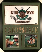 "Chevy Chase Signed ""Caddyshack"" 23x27 Custom Framed Flag Display (Steiner COA) at PristineAuction.com"
