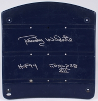 "Randy White Signed Game-Used Dallas Cowboys Blue Stadium Seat Bottom Inscribed ""HOF '94"" & ""Co-MVP SB XII"" (Schwartz COA) at PristineAuction.com"