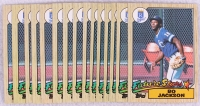 Lot of (15) Bo Jackson 1987 Topps #170 RC at PristineAuction.com
