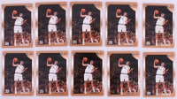 Lot of (10) Dirk Nowitzki 1998-99 Topps #154 RC at PristineAuction.com