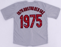 1975 Team-Signed Red Sox Jersey with (16) Signatures Including Carlton Fisk, Jim Rice, Bill Lee, Luis Tiant (JSA COA) at PristineAuction.com