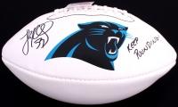"Luke Kuechly Signed Panthers Logo Football Inscribed ""Keep Pounding!"" (JSA COA) at PristineAuction.com"