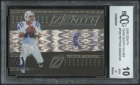 Peyton Manning 2005 Zenith Team Zenith Silver #TZ5 (BCCG 10) at PristineAuction.com