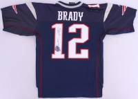 "Tom Brady Signed Patriots Jersey Inscribed ""Go Pats"" (JSA LOA) at PristineAuction.com"