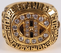 Patrick Roy Montreal Canadiens High Quality Replica 1986 Stanley Cup Championship Ring at PristineAuction.com