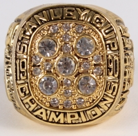 Mark Messier Edmonton Oilers High Quality Replica 1990 Stanley Cup Championship Ring at PristineAuction.com
